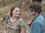 It's over... already! Margot Robbie's 'romance with local New Zealand lad Henry Aitken ends' after actress finishes filming Z for Zachariah