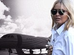 Swapping her wheels for wings! Lara Bingle prepares to board luxury private jet just days after attending her court-ordered traffic offenders program