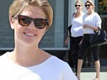 Baby on the way! Kate Upton and pregnant sister Christie grab healthy juices together in matching outfits