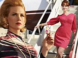 They're back! January Jones and Christina Hendricks look ready to take on the world in new Mad Men stills