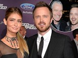 """'He always said, """"Do not settle""""': Aaron Paul reveals Bryan Cranston's romantic advice and how he's 'never fought' with his wife"""