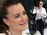 Kyle Richards shopping