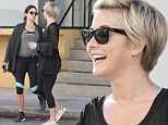 Workout buddies! Julianne Hough and Nikki Reed enjoy an early morning gym session at Tracy Anderson's studio