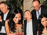 Tony Blair and Wendi Deng