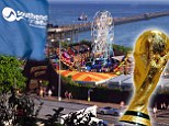 The World Cup is in Brazil this summer... so what is the trophy doing in SOUTHEND?