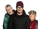 Nerves: Beckham admitted he struggled to sleep ahead of his Only Fools and Horses debut