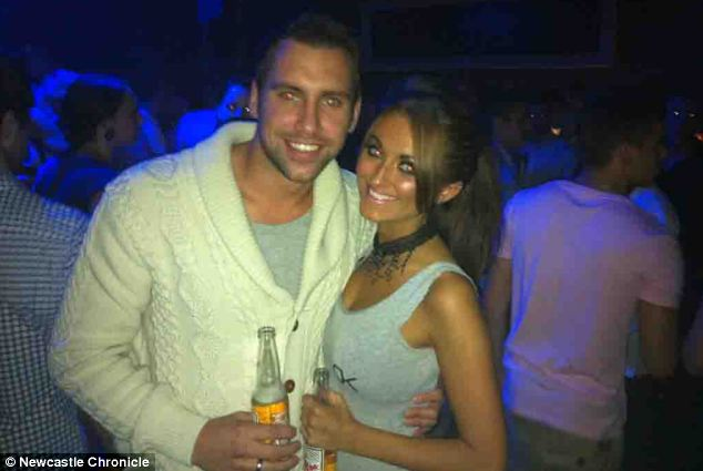 Scott Aitken, 27, was attacked by Lucie Slater (right) in June 2012 and was left with serious facial injuries which forced him to give up work as a swimming coach