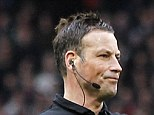 Mark Clattenburg was inconsistent during the Man United vs Liverpool match