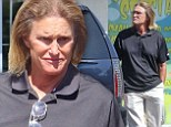 What happened to your hair? Bruce Jenner's long locks look fried and faded as he steps out to run errands