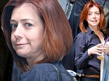 Alyson Hannigan shopping