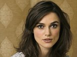 Football fan: Miss Knightley says she only relented and got a TV for the football