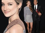 A fatherly bond: Shailene Woodley opened up about her relationship with Clooney