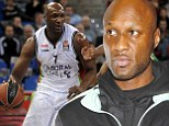 Lamar Odom returns to US from Spain to seek treatment for back injury just two weeks after disastrous debut... and his future in Euroleague is now in doubt