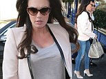 Still in her skinnies! Pregnant Tamara Ecclestone shows off neat bump in ripped jeans and pink blazer for lunch with husband Jay Rutland