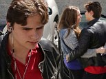 Prince Jackson turns up the PDAs as he passionately kisses girlfriend Nikita Bess on lunch date