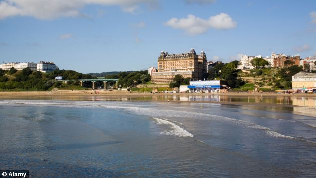 Each of the beaches, including Scarborough pictured, would have signs marking them as unfit for bathing unless expensive steps are taken to remove sources of contamination