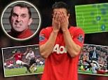 Exit: Stuttering striker Robin van Persie needs to be shown the door at Manchester United