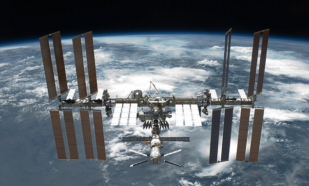 The International Space Station (ISS) is constantly hurtling through space at some 17,500 miles per hour, at an altitude of some 250 miles