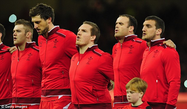 Record: Gethin Jenkins rejected the chance to captain Wales on his record-breaking 105th cap