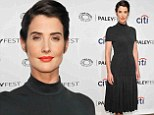 She's SMULDERING! Cobie looked elegant at PaleyFest