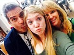 Are they back together? Ramona Singer poses with estranged husband Mario and daughter Avery in new family selfie