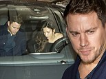Just the two of us! Channing Tatum and Jenna Dewan dress up for romantic date night while leaving their baby daughter at home