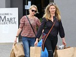 Retail therapy: Actress Naomi Watts was spotted in Santa Monica for a bit of shopping at The Mart Collective on Friday