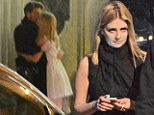 When in Rome: Mischa Barton was spotted kissing Italian actor Alan Cappelli Goetz in Rome on Saturday