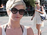 Footloose and fancy free! Julianne Hough is in high spirits as she goes walkabout in Los Angeles