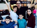 Just a regular dad! Jerry Seinfeld takes a break from standup tour to hit Walt Disney World with wife and children