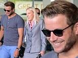 Luke Jacobz arrives in Melbourne for Grand Prix