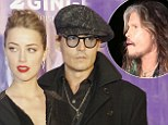 It's official! Johnny Depp throws splashy engagement party for fianc�e Amber Heard with Steven Tyler and Marilyn Manson as guests