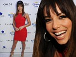 Eva Longoria celebrates 39th birthday in skintight red mini dress and says she feels 'sexier than ever' as she approaches 40