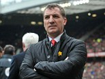 Job done: Brendan Rodgers and Liverpool won't have trouble attracting top names in the summer