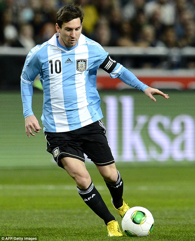 Quest: The Barcelona striker will lead Argentina's World Cup assault in Brazil this summer