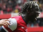 Wanted man: Inter Milan and Galatasaray are interested in signing Sagna (right) this summer