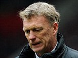 Not up to it: David Moyes has been accused by one United fan of playing Stone Age football
