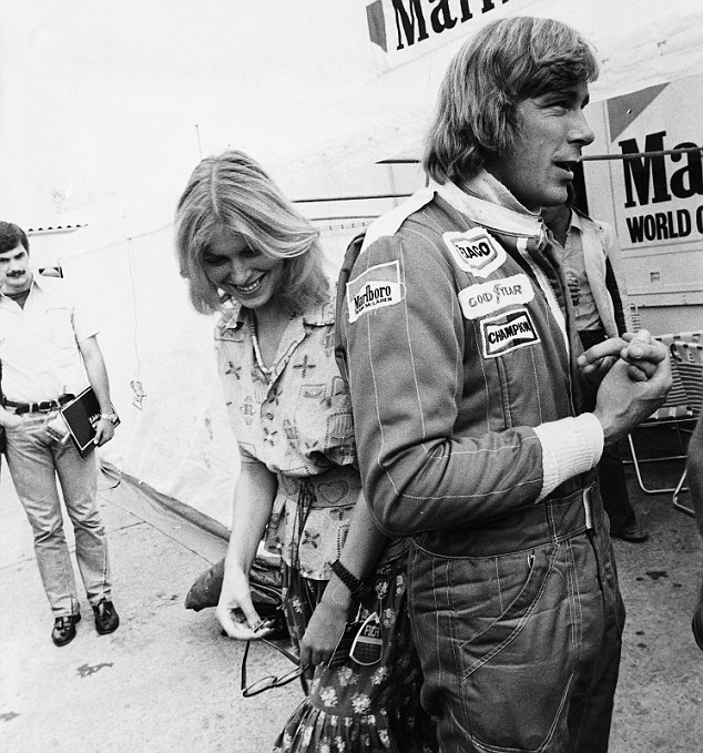 Rock star lifestyle: James Hunt enjoyed the trappings of success and is much missed by Lauda