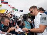 Jenson Button of McLaren Mercedes