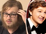 Former Two and a Half Men star Angus T Jones now sports a shaggy beard and long hair as he visits churches talking about God and Christianity
