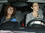 They could be sisters! Grandmother-to-be Susan Sarandon, 67, looks youthful as she joins daughter Eva, 29 for dinner date