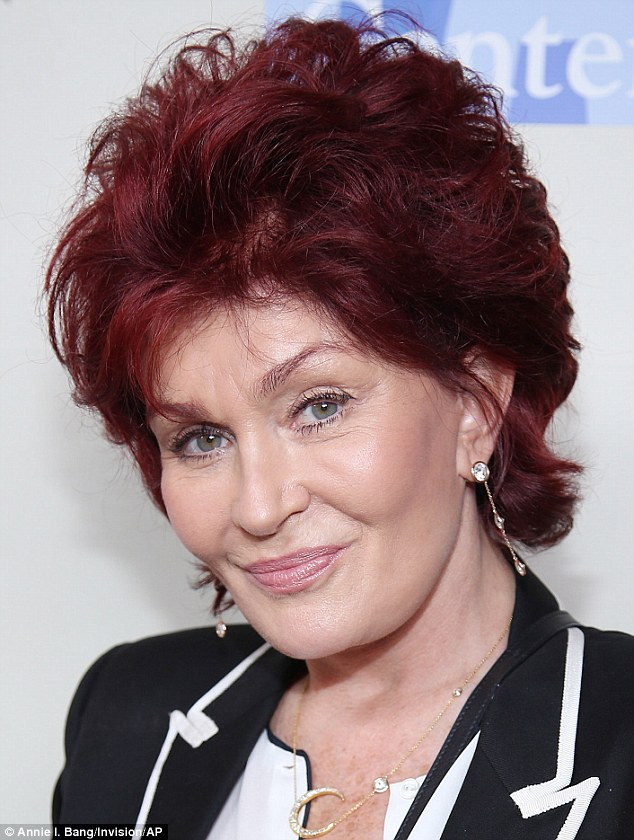 Radiant! Sharon Osbourne looks natural and lovely as she arrives at L.A. Gay and Lesbian Center An Evening with Women Kick Off Concert Event on Saturday in West Hollywood, California