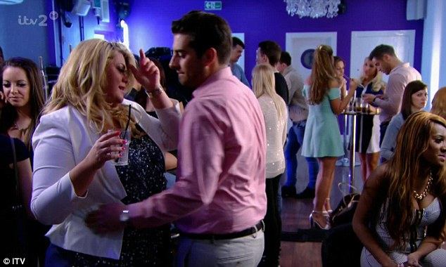Time to move on: Unfortunately for Gemma, it would seem the feeling wasn't mutual, with Arg admitting he had been 'selfish' because he merely saw the curvaceous blonde as a 'friend'