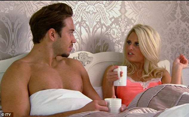 Lockie and Danni share a little pillow talk about the party the previous evening