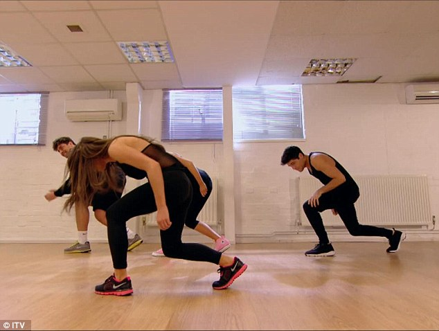 The boys took a dance class with the girls but couldn't seem to take things seriously