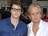 Behind bars: Michael Douglas' troubled son Cameron has reportedly been released from solitary confinement after the actor's impassioned plea at the 2013 Emmy Awards six months ago