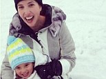 Ivanka Trump, 32, shared a picture on Instagram yesterday from Aspen, Colorado, sledding with her two-year-old daughter Arabella