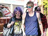 New man? Kelly Osbourne has reportedly got a lot closer to skater Braydon Szafranski, pictured here on Saturday