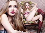 Amanda Seyfried strips to her underwear for racy photo shoot... as she enthuses about filming sex scenes with hunky co-stars