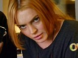 Fury: Lindsay Lohan reacts with outrage as she learns her production company is stalling on paying her an advance for her half-filmed reality show